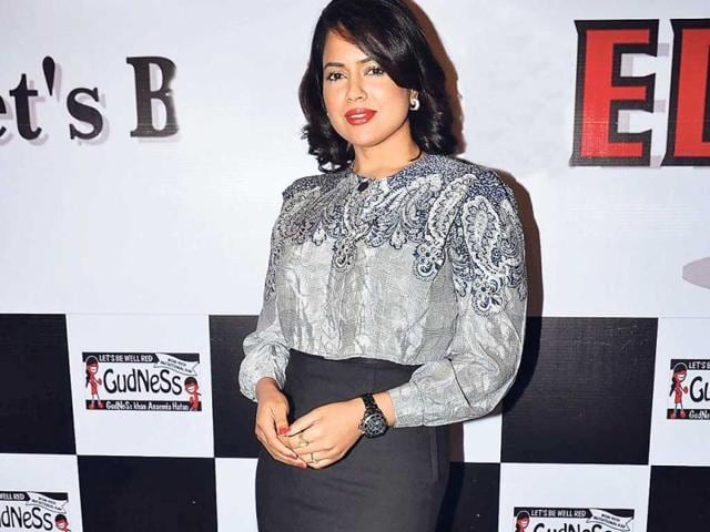 The-bad-Sameera-Reddy-at-an-event-OURTAKE-The-pencil-skirt-with-a-tucked-in-top-usually-makes-for-a-slimming-silhouette-but-Sameera-manages-to-look-boxy-and-heavy-It-just-doesn-t-suit-her