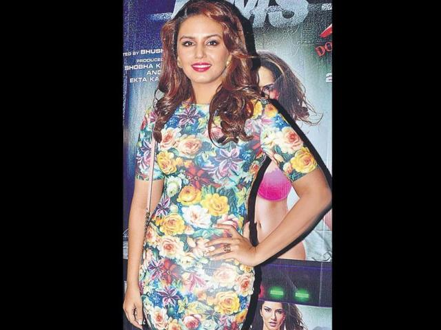 Huma Qureshi was also present at the do.