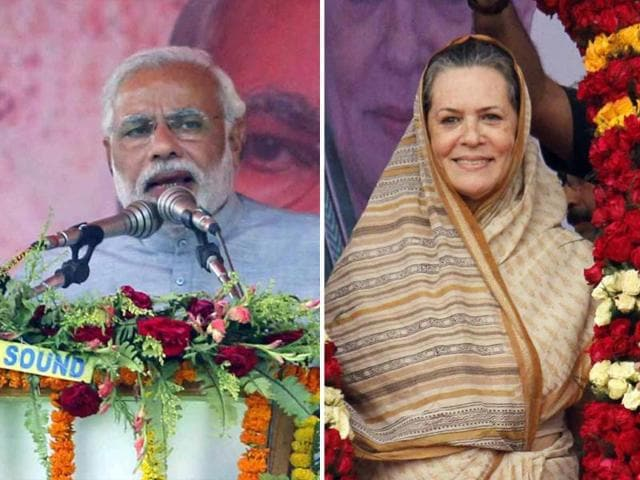 Congress-president-Sonia-Gandhi-and-BJP-prime-ministerial-canidate-Narendra-Modi-address-rallies-in-Odisha-Arabinda-Mahapatra-HT-Photo
