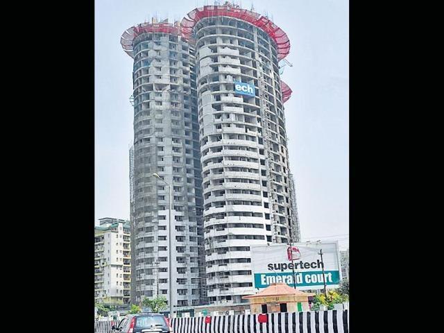 The-controversial-twin-tower-project-built-by-realty-giant-Supertech-Burhaan-Kinu-HT-Photo
