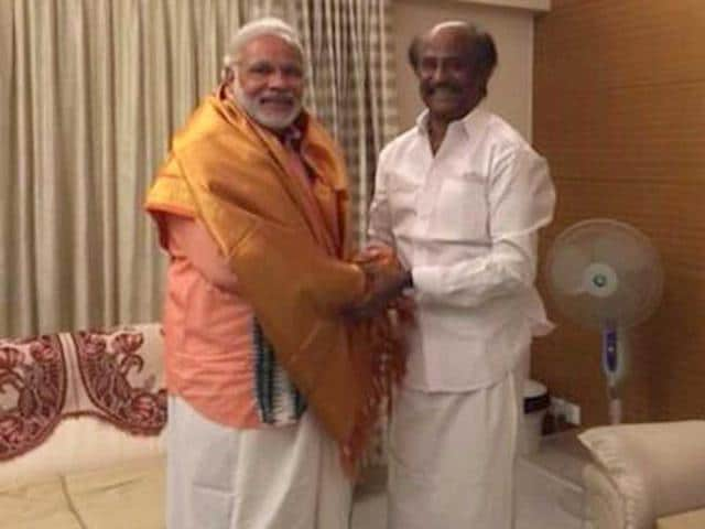 A-photo-of-Bharatiya-Janata-Party-s-prime-ministerial-nominee-Narendra-Modi-with-Tamil-superstar-Rajinikanth-at-his-Poes-Garden-residence-in-Chennai-Via-narendramodi-twitter