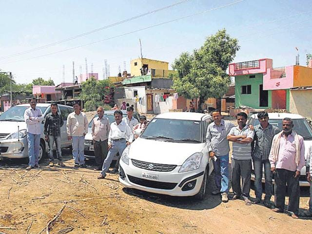 300-farmers-in--Karmad-village-struck-gold-when-their-land-was-acquired-for-the-ambitious-Delhi-Mumbai-Industrial-Corridor-Kunal-Patil-HT-photo