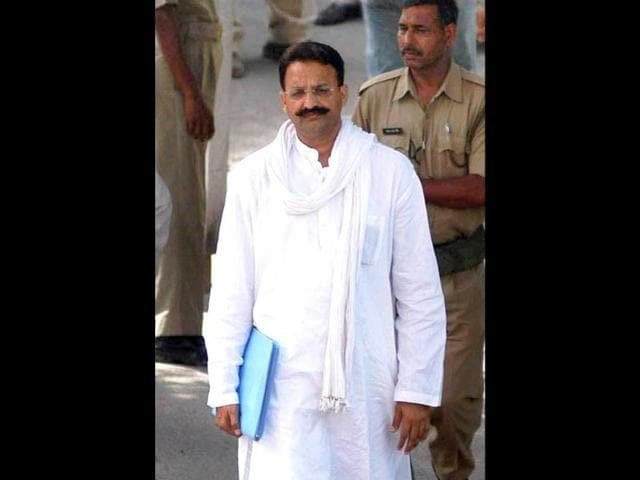 A-file-photo-of-Mukhtar-Ansari-arriving-to-vote-for-the-presidential-election-at-Vidhan-Sabha-in-Lucknow-PTI-photo