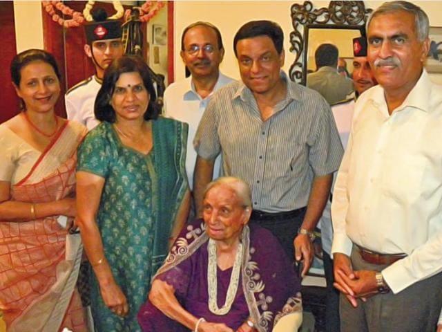 Rajkumari Shrinagesh,General SM Shrinagesh,Rajkumari Shrinagesh birthday