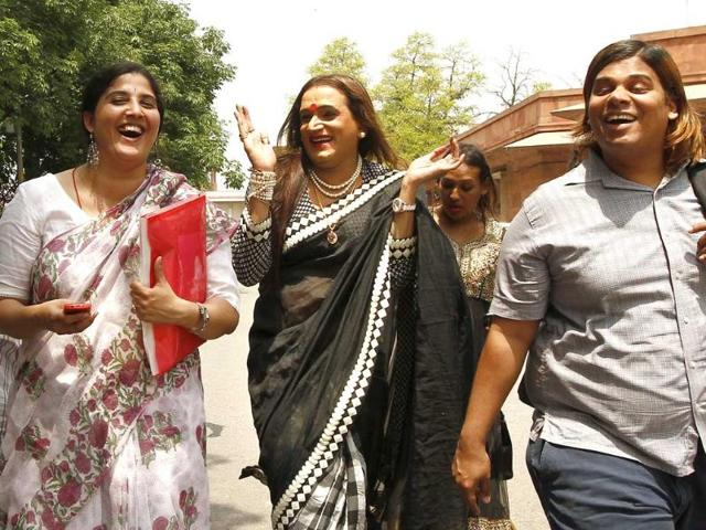Laxmi's sole mission is to fight for dignity of transgenders