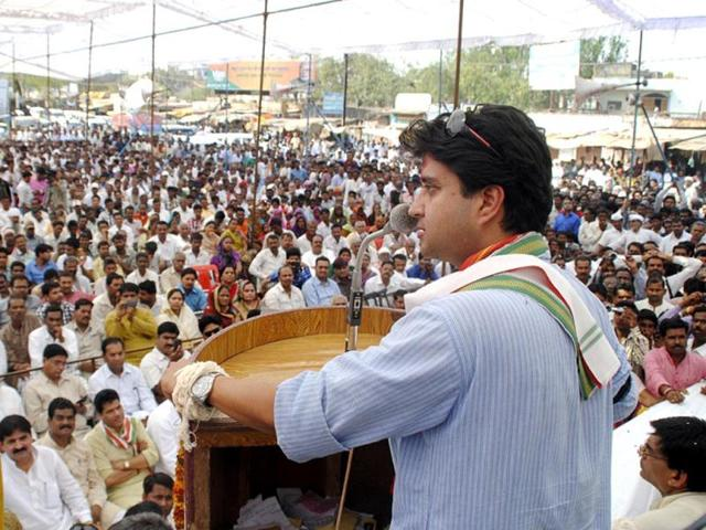 Congress-leader-Jyotiraditya-Scindia-after-filing-his-nomination-for-Lok-Sabha-election-in-Shivpuri-Madhya-Pradesh-HT-Photo