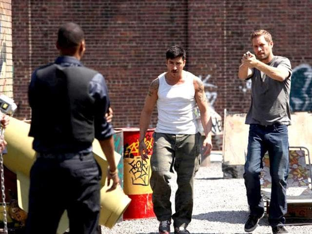 For undercover cop Damien Collier (Paul Walker) every day is a battle against corruption. For Lino (David Belle), every day is a fight to live an honest life.
