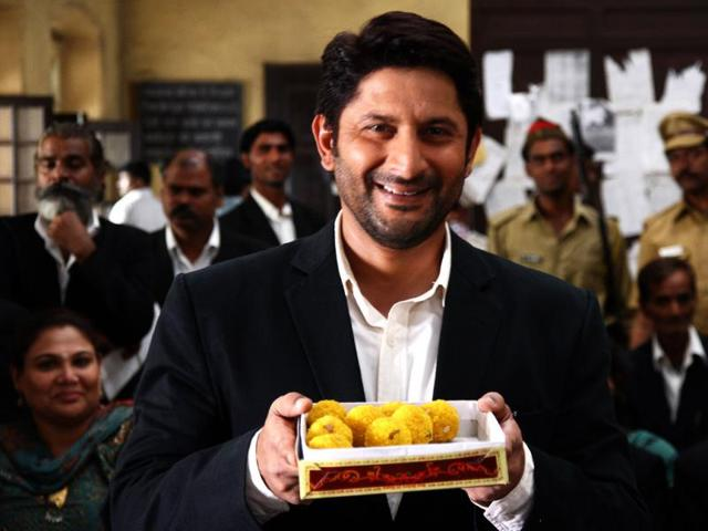 Arshad-Warsi-who-made-his-debut-with-Tere-Mere-Sapne-1996-turns-45-on-Saturday-April-19-On-his-birthday-we-take-a-look-at-some-his-most-appreciated-works-on-the-silver-screen-Subhash-Kapoor-s-directorial-venture-Jolly-LLB-2013-not-only-won-critical-acclaim-but-also-bagged-two-National-awards-Best-actor-in-a-supporting-role-Saurabh-Shukla-and-best-Hindi-film-Arshad-played-a-lawyer-who-fights-for-justice-in-the-movie