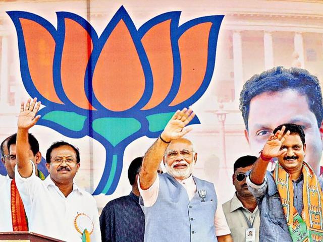 BJP-Prime-Ministerial-candidate-Narendra-Modi-addresses-a-public-rally-in-Lakhimpur-Shadab-Raza-HT-photo