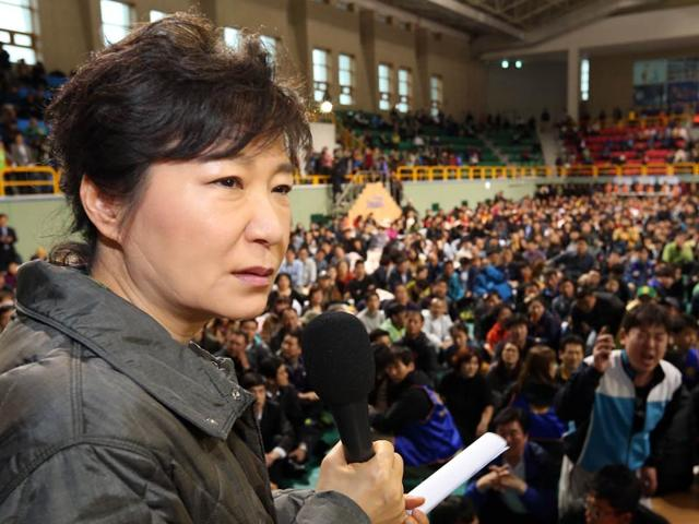 South Korea,North Korea,Park Geun-Hye