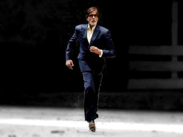 Amitabh-Bachchan-shoots-for-his-TV-serial-for-Anurag-Kashyap