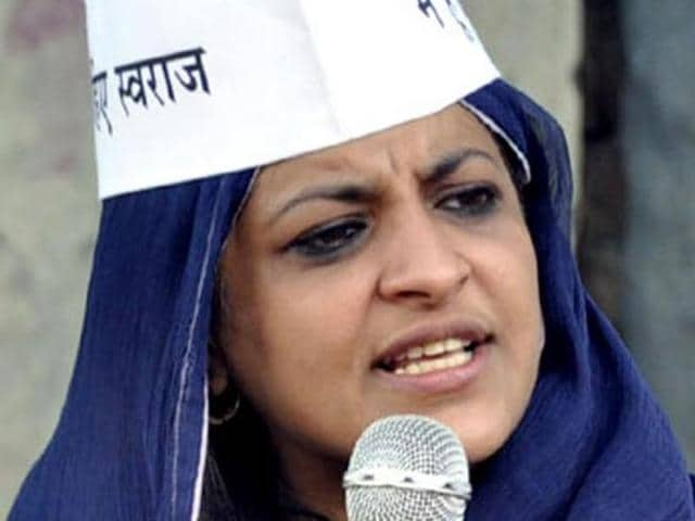 A-file-photo-of-Aam-Aadmi-Party-AAP-leader-Shazia-Ilmi-HT-file-photo