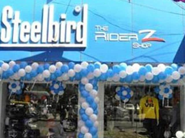 Steelbird opens new showroom in Delhi | autos | Hindustan Times