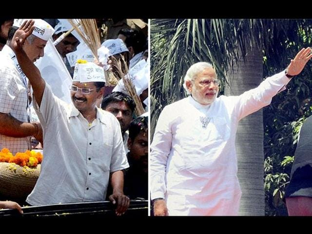 A-combination-photo-of-Aam-Aadmi-Party-leader-Arvind-Kejriwal-and-BJP-s-prime-ministerial-candidate-Narendra-Modi-Agencies