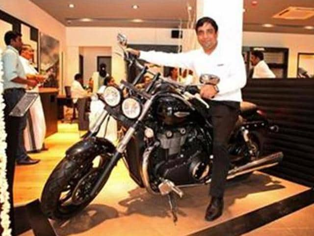 Triumph-inaugurates-third-dealership-in-India