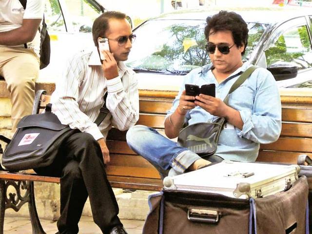 Political-satire-being-shot-in-Gurgaon-HT-PHOTO