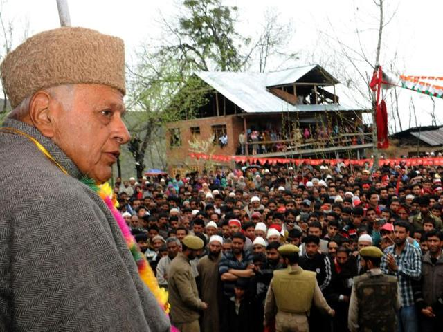 Union-Minister-and-Jammu-and-Kashmir-National-Conference-NC-candidate-Farooq-Abdullah-addressing-an-election-campaign-rally-in-Budgam-PTI-Photo