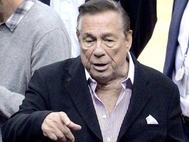 Los-Angeles-Clippers-owner-Donald-Sterling-attends-the-NBA-playoff-game-between-the-Clippers-and-the-Golden-State-Warriors-AFP-Photo