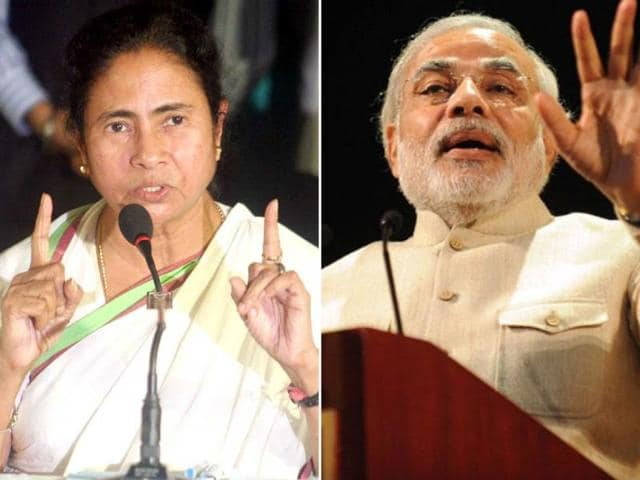 A-combination-photo-shows-West-Bengal-chief-minister-Mamata-Banerjee-and-BJP-s-prime-ministerial-candidate-Narendra-Modi-HT-photo-files