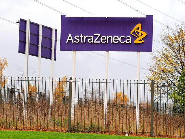 Signboards-of-Anglo-Swedish-pharmaceutical-giant-AstraZeneca-are-pictured-in-Macclesfield-in-northwest-England-AFP-Photo