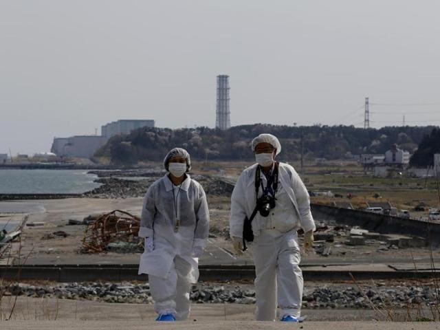 Fukushima nuclear plant,Naraha,Japan government