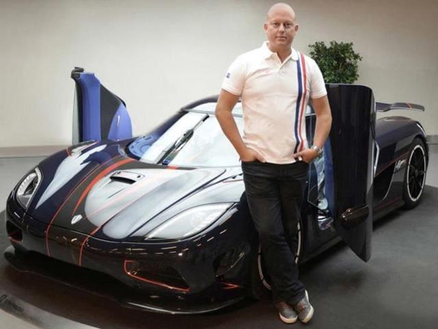 Christian von Koenigsegg Agera R