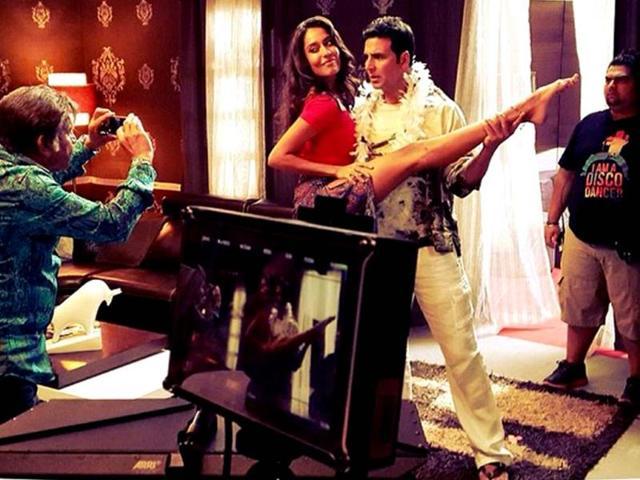 Akshay Kumar,Anupam Kher,Annu Kapoor and Paresh Rawal