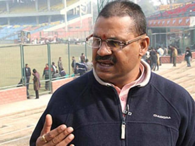 A file photo of fomer cricketer and BJP leader Kirti Azad. (PTI photo)