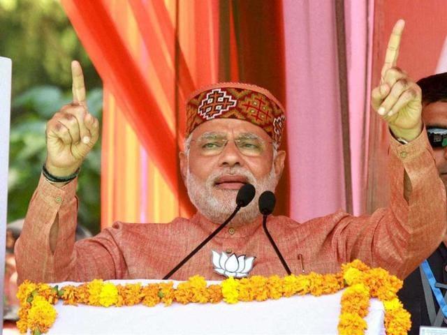 BJP-PM-candidate-Narendra-Modi-addresses-an-election-rally-in-Palampur-Himachal-Pradesh-PTI-Photo
