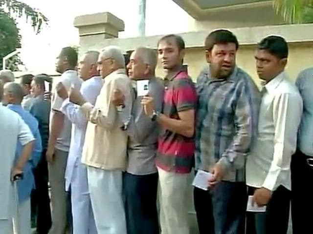 People-stand-in-a-queue-to-cast-their-vote-in-Ahmedabad-Gujarat-ANI-Photo