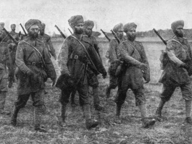india,world war I,india at world war