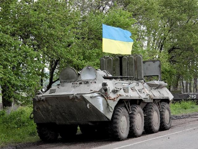 Rebels advance, Ukraine accuses Russia of 'undisguised aggression'