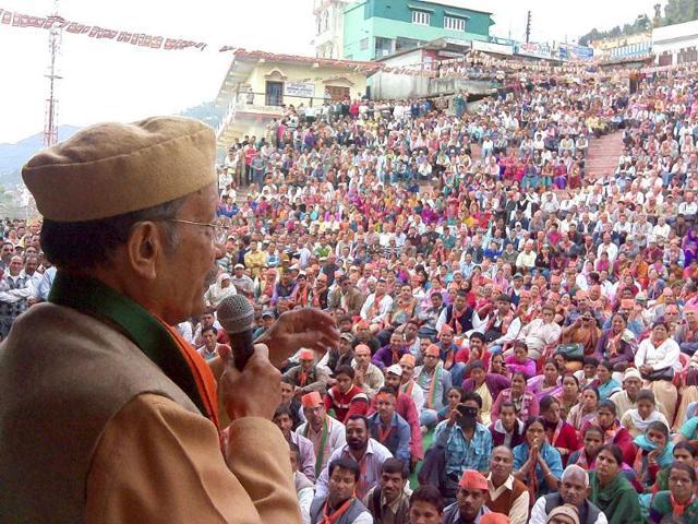 BJP-leader-BC-Khanduri-addresses-an-election-rally-in-Pauri-Uttarakhand-PTI-Photo