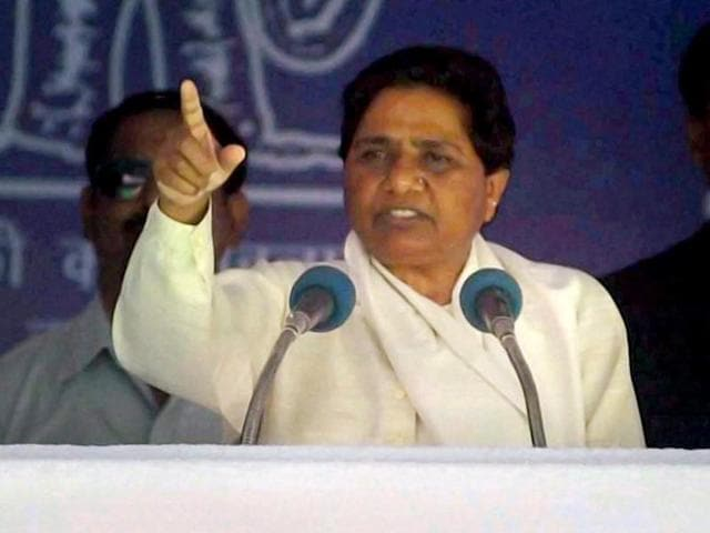 BSP-supremo-Mayawati-addresses-an-election-rally-in-Roorkee-Uttarakhand-PTI-Photo