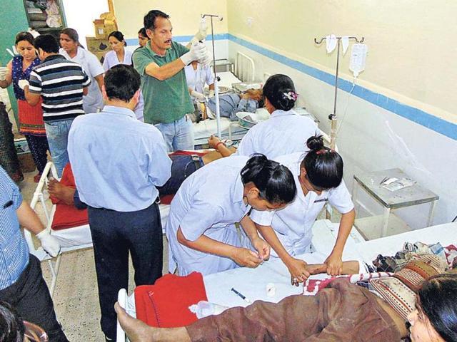 Bus accident in Uttarakhand