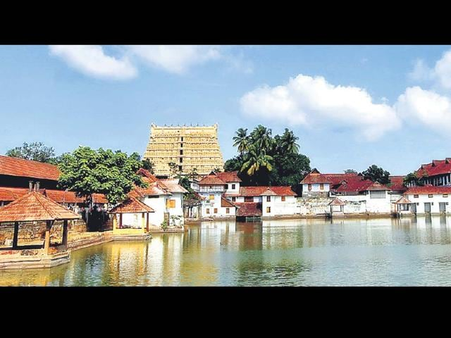 A-photo-of-the-Padmanabhaswamy-temple-The-fabled-treasures-which-lie-in-its-vaults-all-but-the-unopened-one-are-of-the-like-rarely-seen-anywhere-in-the-world-Vivek-R-Nair-HT-Photo