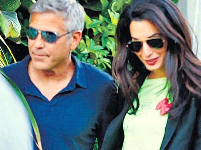 George Clooney,Amal Alamuddin,mother-in-law