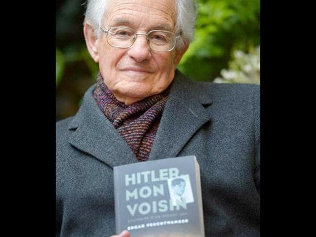 Edgar-Feuchtwanger-who-is-89-is-about-to-go-on-a-German-tour-for-a-book-of-his-own-When-Hitler-Was-Our-Neighbour-starting-of-course-in-Munich-AFP-