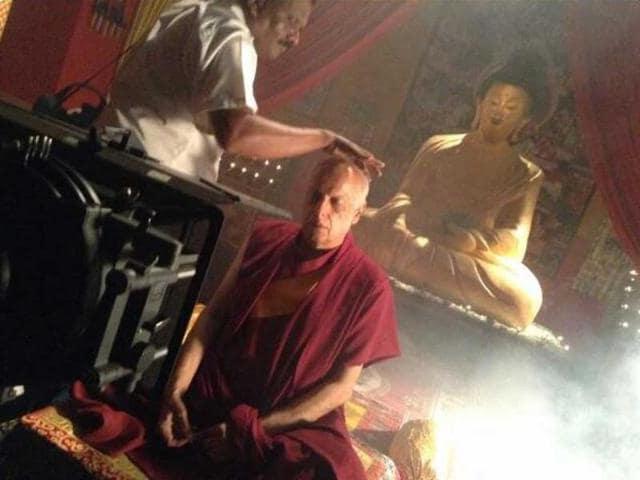 Mahesh-Bhatt-as-a-Buddhist-monk