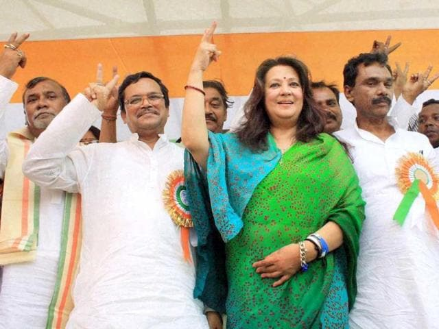 WON: veteran actor Moon Moon Sen is a candidate from Bankura for TMC. (Agency)