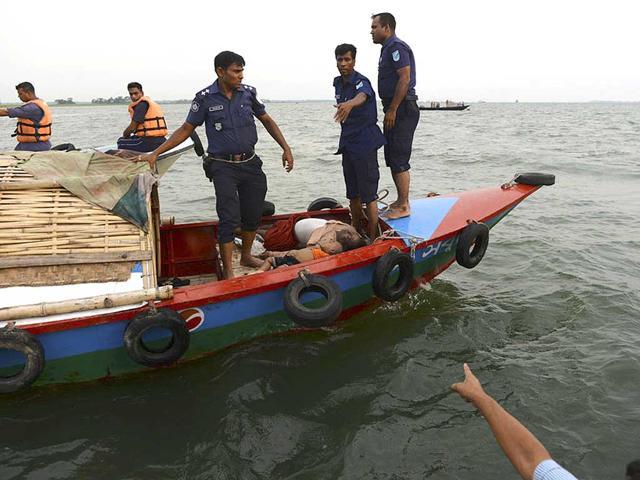 bangladesh ferry capsize,Padma,Munshiganj district