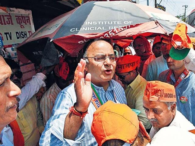 Arun-Jaitley-attributed-his-defeat-to-former-Punjab-chief-minister-Amarinder-Singh-HT-Photo-File