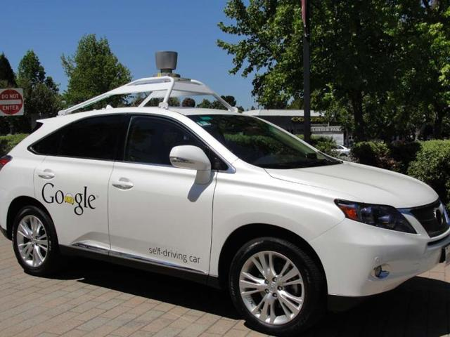 A-Google-self-driving-car-is-seen-in-Mountain-View-California-on-May-13-2014-Photo-AFP