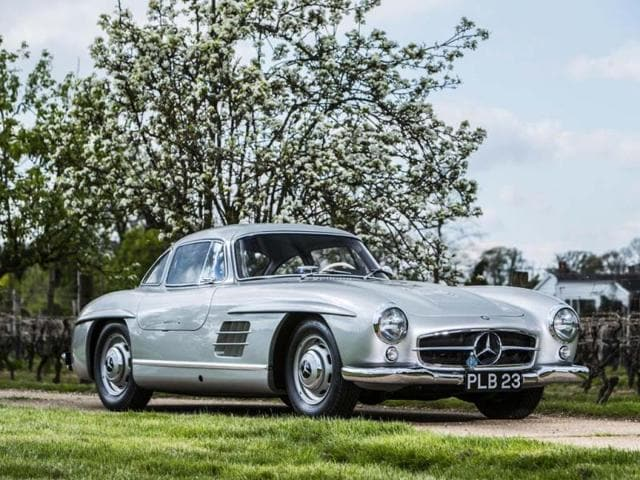 Bonhams-will-auction-this-1954-Mercedes-Benz-300-SL-Gullwing-on-July-12-2014-Photo-AFP