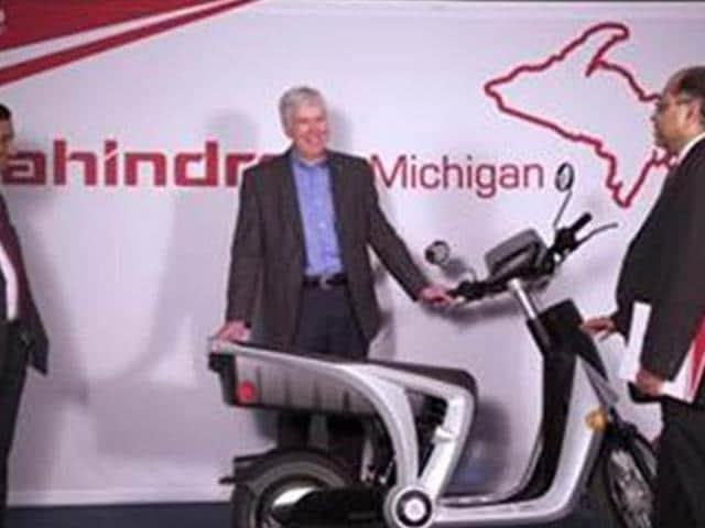Mahindra-to-export-electric-two-wheelers-from-US