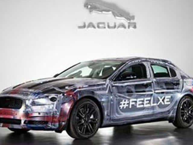 Jaguar-reveals-XE-sedan-prototype