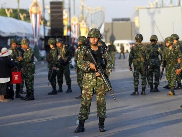 Thailand,Soldiers,Security forces