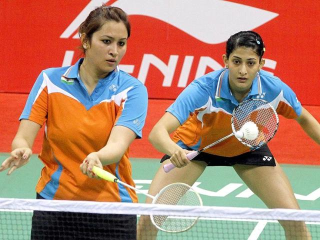 Badminton-players-Jwala-Gutta-and-Ashwini-Ponnappa-in-action-HT-Photo-Sanjeev-Verma