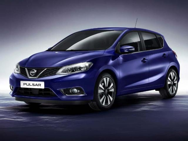 new Nissan Pulsar sedan
