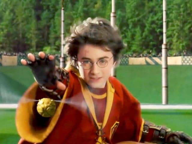 A-still-from-2001-movie-Harry-Potter-and-the-Philosopher-s-Stone-with-Daniel-Radcliffe-chasing-the-magical-snitch